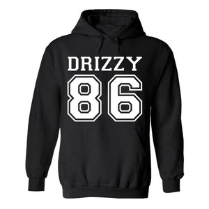 Drizzy Team 86 Toronto Canada Hip hop Pullover - Love Family & Home
