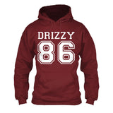 Drizzy Team 86 Toronto Canada Hip hop Pullover - Love Family & Home  - 2