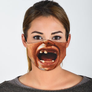 Sloth Face Mask - Sloth Face Cover - Love Family & Home