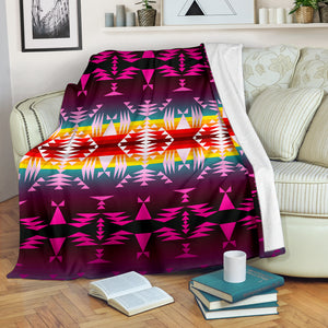 Between the Appalachian Mountains Ultra-Soft Micro Fleece Premium Blanket - Love Family & Home