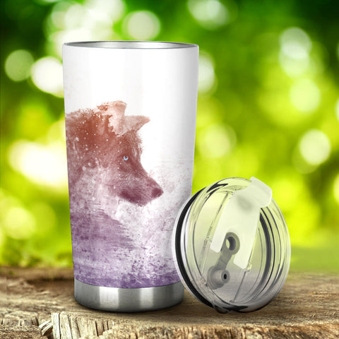 Image of Wolf Tumbler - Love Family & Home