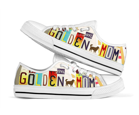 Golden Mom Low Top Shoes - Love Family & Home