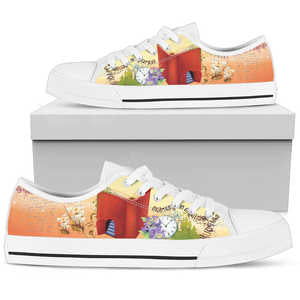 Book Low Top White M - Love Family & Home