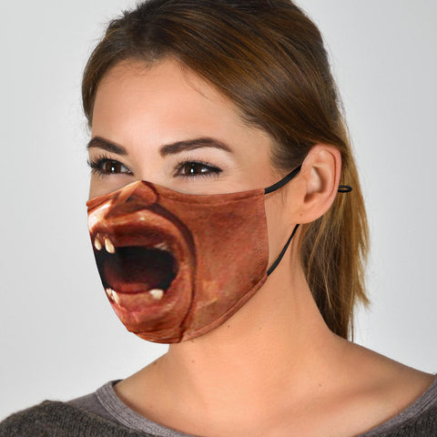 Image of Sloth Face Mask - Sloth Face Cover - Love Family & Home