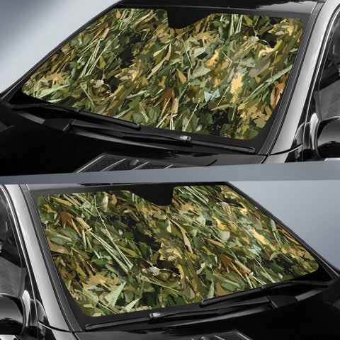 Image of Camo Auto Sun Shade - Love Family & Home