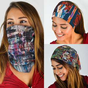 Street Art Paint Set - Bandana 3 Pack - Love Family & Home