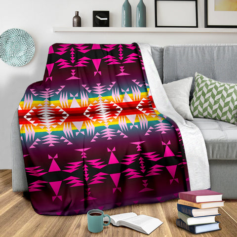 Image of Between the Appalachian Mountains Ultra-Soft Micro Fleece Premium Blanket - Love Family & Home