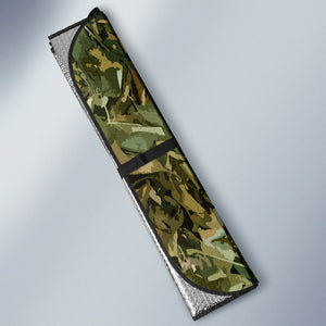 Camo Auto Sun Shade - Love Family & Home