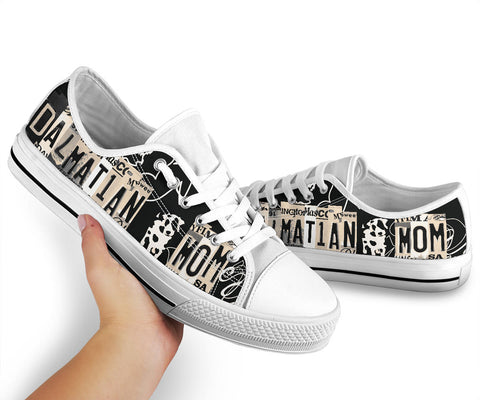 Dalmatian Mom Low Top Shoes - Love Family & Home