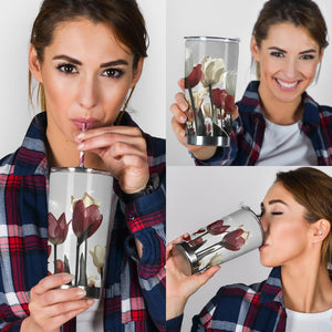 Tulip Tumbler - Love Family & Home