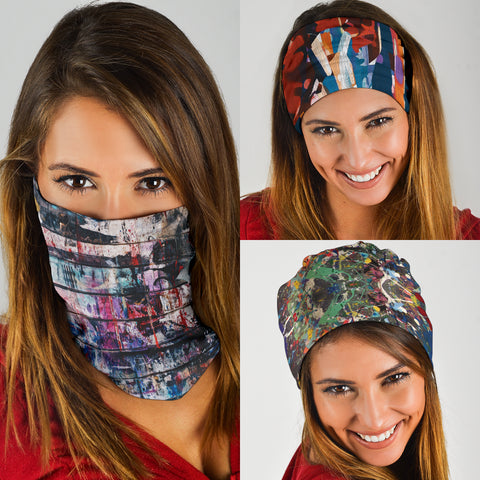 Image of Street Art Paint Set - Bandana 3 Pack - Love Family & Home