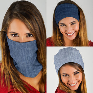 Shades of Denim (Light, Mid, Dark) - Bandana 3 Pack - Love Family & Home
