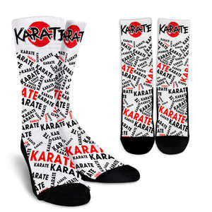 Karate Socks - Love Family & Home
