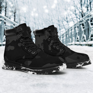 Urban Camouflage All Season Boots - Camo Boots