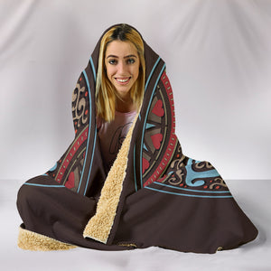 Peace Hippie Love Hooded Blanket - Love Family & Home