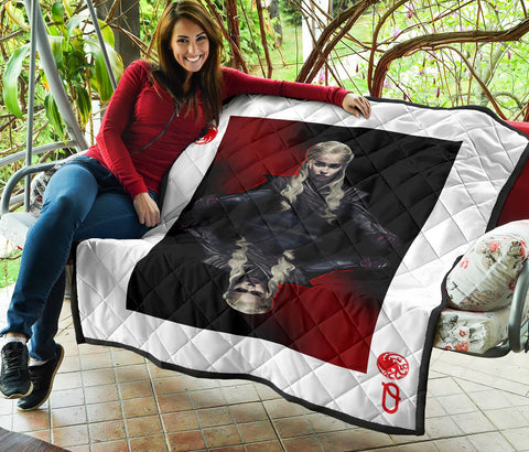 Image of Daenerys Targaryen Queen Card Quilt - Love Family & Home