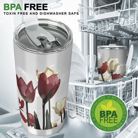 Image of Tulip Tumbler - Love Family & Home