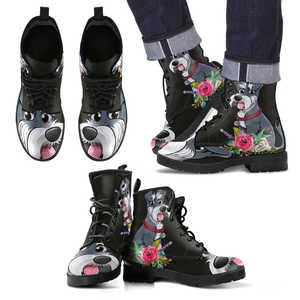 Schnauzer lovers Boots M - Love Family & Home