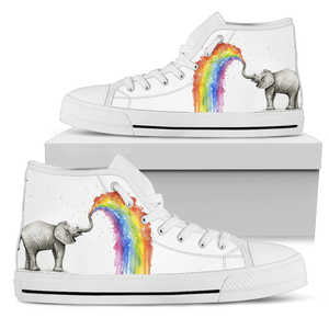 Elephant Color High Top Shoe - Love Family & Home