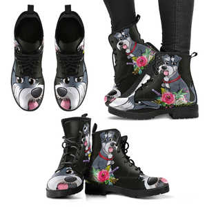 Schnauzer lovers Boots W - Love Family & Home