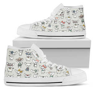 Chihuahua Lover Shoes - Women's High Top