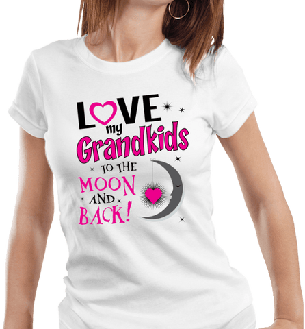 I Love My Grandkids To The Moon & Back! Apparel - Love Family & Home  - 1