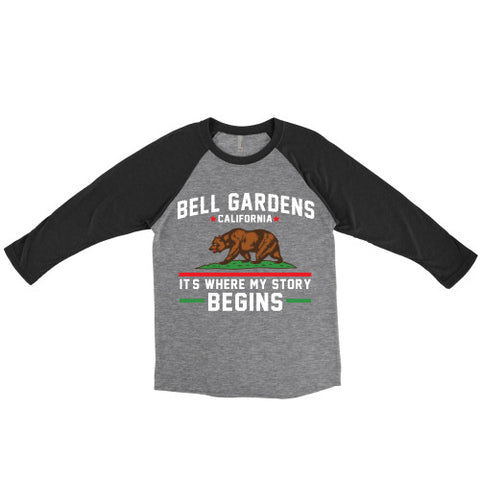 Special Colors - Bell Gardens California It's Where My Story Begins Grizzly Bear - Love Family & Home