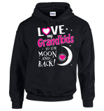 I Love My Grandkids To The Moon & Back! Apparel - Love Family & Home  - 4
