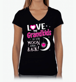 I Love My Grandkids To The Moon & Back! Apparel - Love Family & Home  - 6