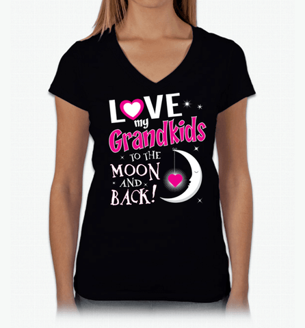 Image of I Love My Grandkids To The Moon & Back! Apparel - Love Family & Home