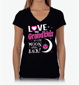 I Love My Grandkids To The Moon & Back! Apparel - Love Family & Home