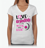 I Love My Grandkids To The Moon & Back! Apparel - Love Family & Home  - 5