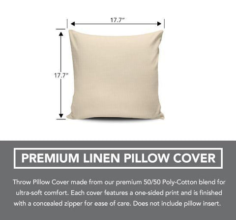 "Image of Kettlebell 18"" Pillow Cover - Love Family & Home"