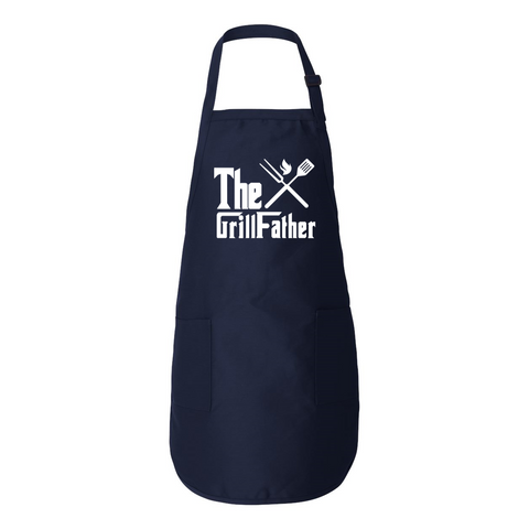 Image of The GrillFather BBQ Apron For Dads - Love Family & Home