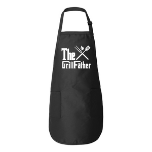 The GrillFather BBQ Apron For Dads - Love Family & Home