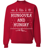 Hungover And Hungry (Crewnecks) - Love Family & Home  - 8