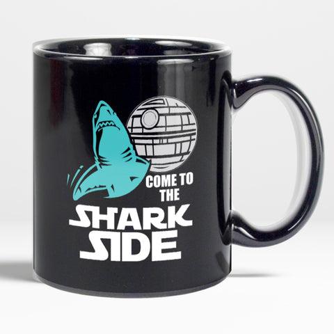 #Shark Side Mug Come To The Shark Side Coffee Mug