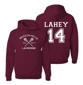 Isaac Lahey 14 Teen Wolf Beacon Hills Inspired Lacrosse Adult Fashion Apparel - Love Family & Home