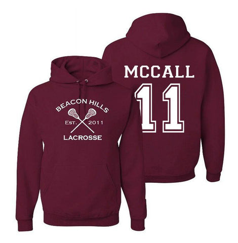 Scott McCall 11 Teen Wolf Beacon Hills Inspired Lacrosse Adult Fashion Apparel - Love Family & Home  - 1
