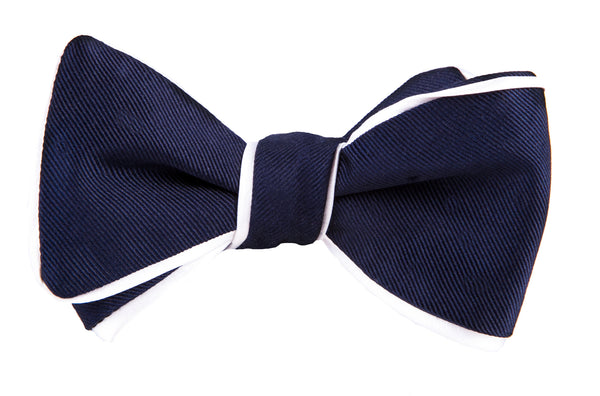 Dion Border Trim Bow Tie