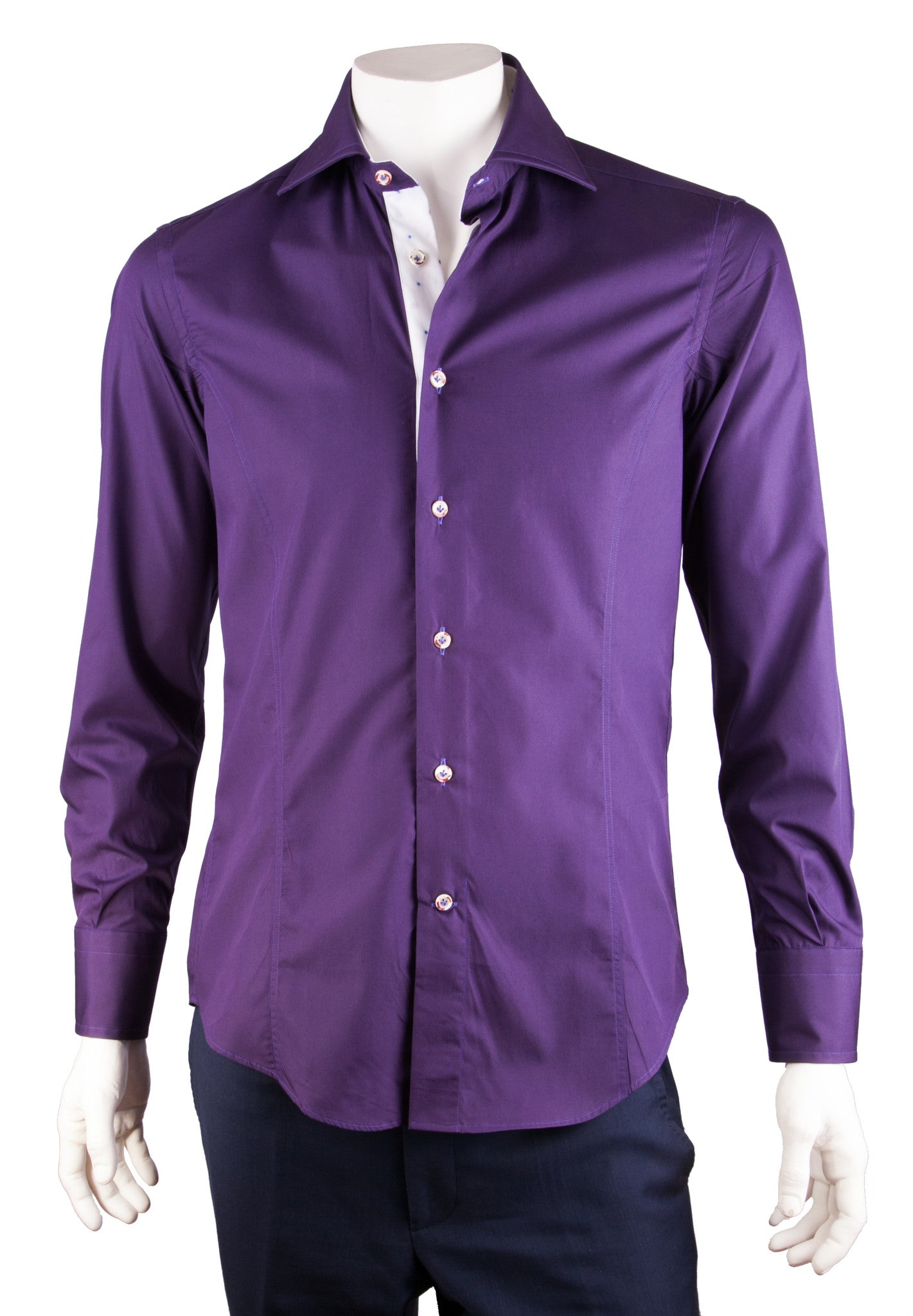 Solid Purple Shirt