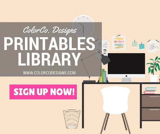 colorco designs printables library