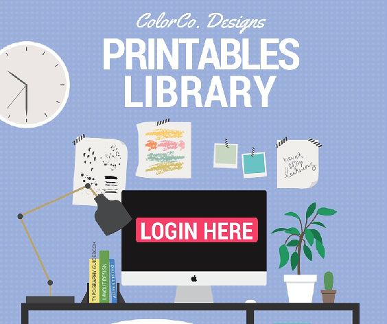Color Co Printables Library - login