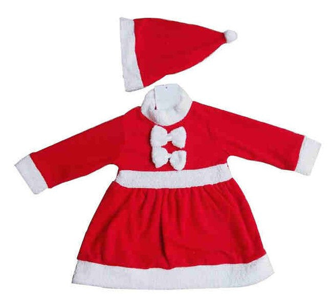 2015 Grils Boys Kids Clothing Set Children Christmas  Winter New Year Baby Santa Claus Christmas Costumes Party Dress