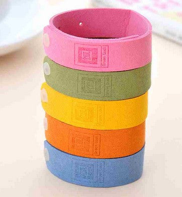 Adjustable deworming adult Natural essential oils mosquito repellent bracelet baby supplies