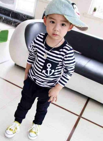 2015 Hot-selling autumn clothing set baby boys girls clothing kids clothes children long sleeve sport suit free shipping retails