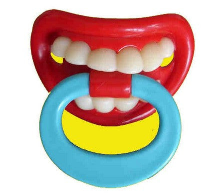 Hot Funny Dummy Dummies Pacifiers Baby Pacifiers Baby Teeth Funny Pacifier Baby Shower 1pcs/lot Infant Silicone Pacifier