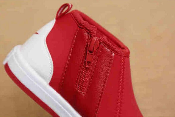 New 2015  Korean Boys Shoes Solid Color Stretch Fabric Girls Sneakers Kids Trainers Children Solid Casual Sapatilha Infantil 616