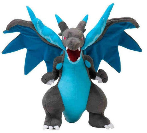 "9""-10"" Mega Evolution X&Y Charizard Soft Stuffed Plush Doll Cartoon Gift for Kid Pokemon Plush Doll Stuffed Toy  Free Shipping"
