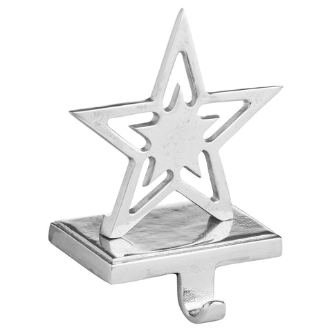 Star Nickel Stocking Holder